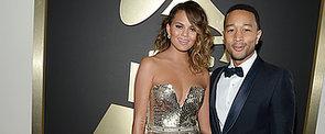 2014 Grammy Awards: Chrissy Teigen in Johanna Johnson