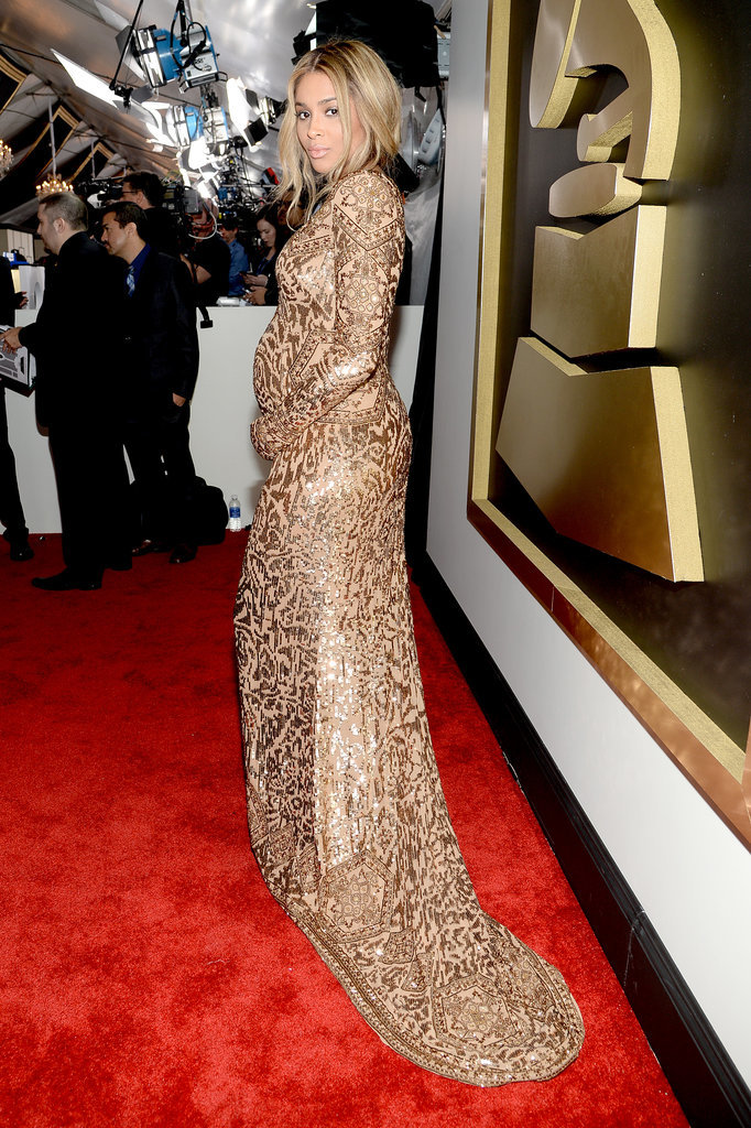 Pregnant Ciara Is Seriously Glowing at the Grammys
