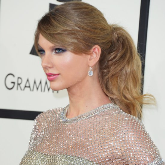 2014 Grammy Awards Hair & Beauty: Taylor Swift Ponytail