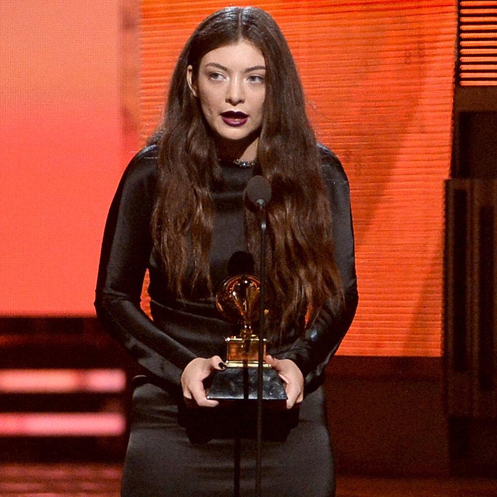 Lorde Dress at Grammys 2014 | POPSUGAR Fashion