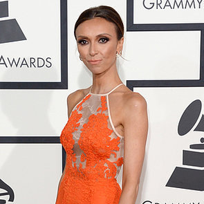2014 Grammy Awards Style: Giuliana Rancic Orange Alex Perry