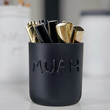 Mason Jar Makeup Brush Storage | DIY