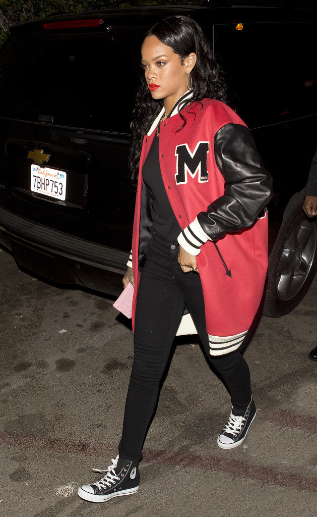 Rihanna in Sporty Outfit at Grammys Afterparty