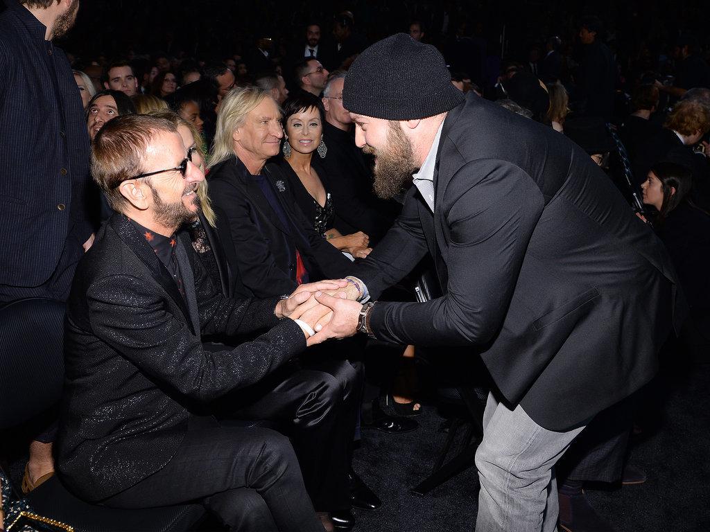 Zac Brown met Ringo Starr.