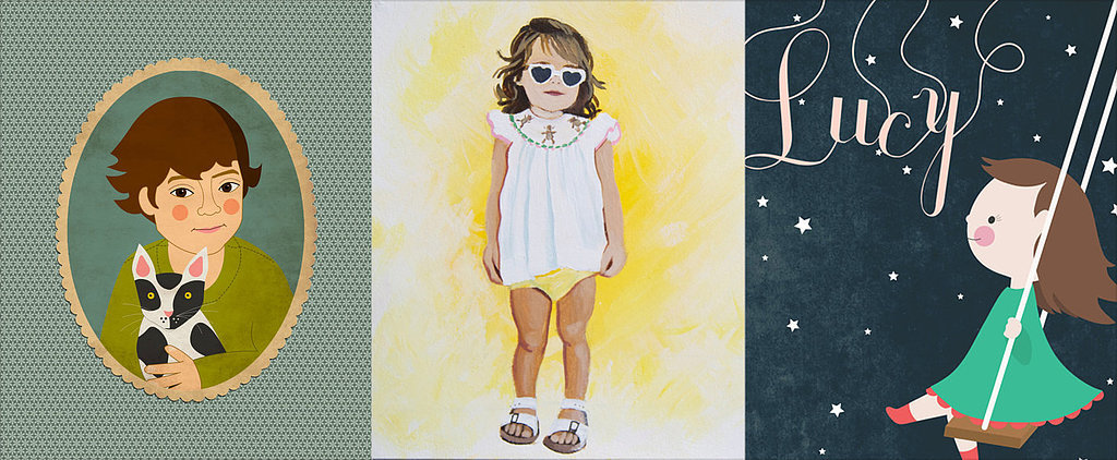 6 Resources For the Coolest Custom Portraits of Your Kids