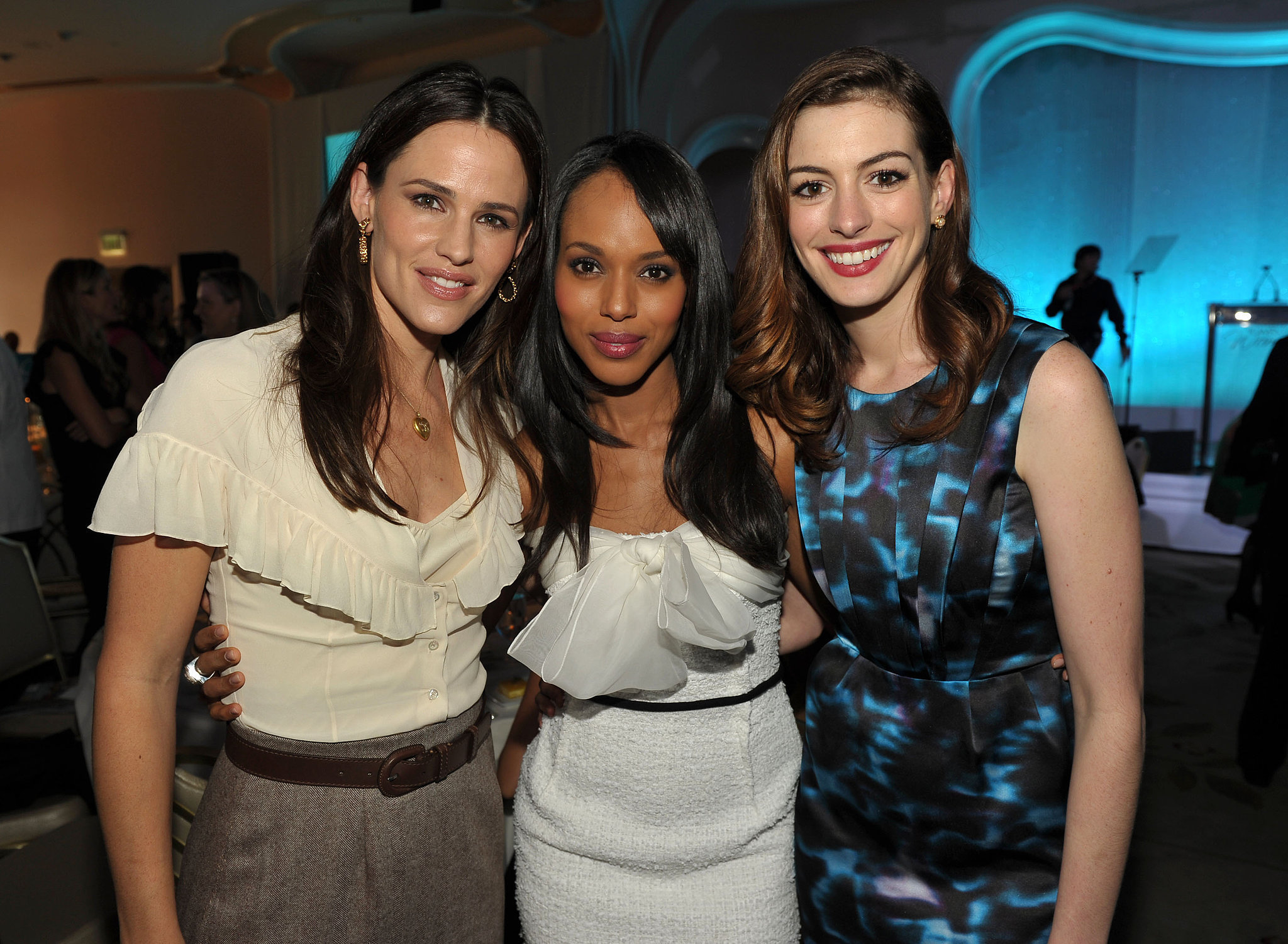 She Appreciates a Garner-Hathaway Sandwich