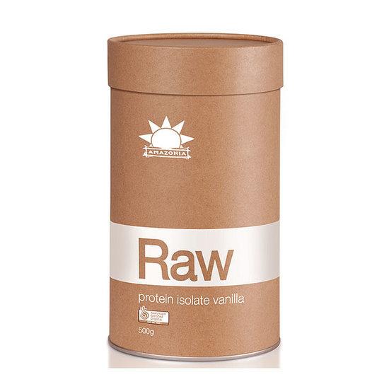 Review on Amazonia Raw Protein Isolate Vanilla