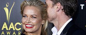 Lara Bingle and Sam Worthington Take Their Love to the Red Carpet