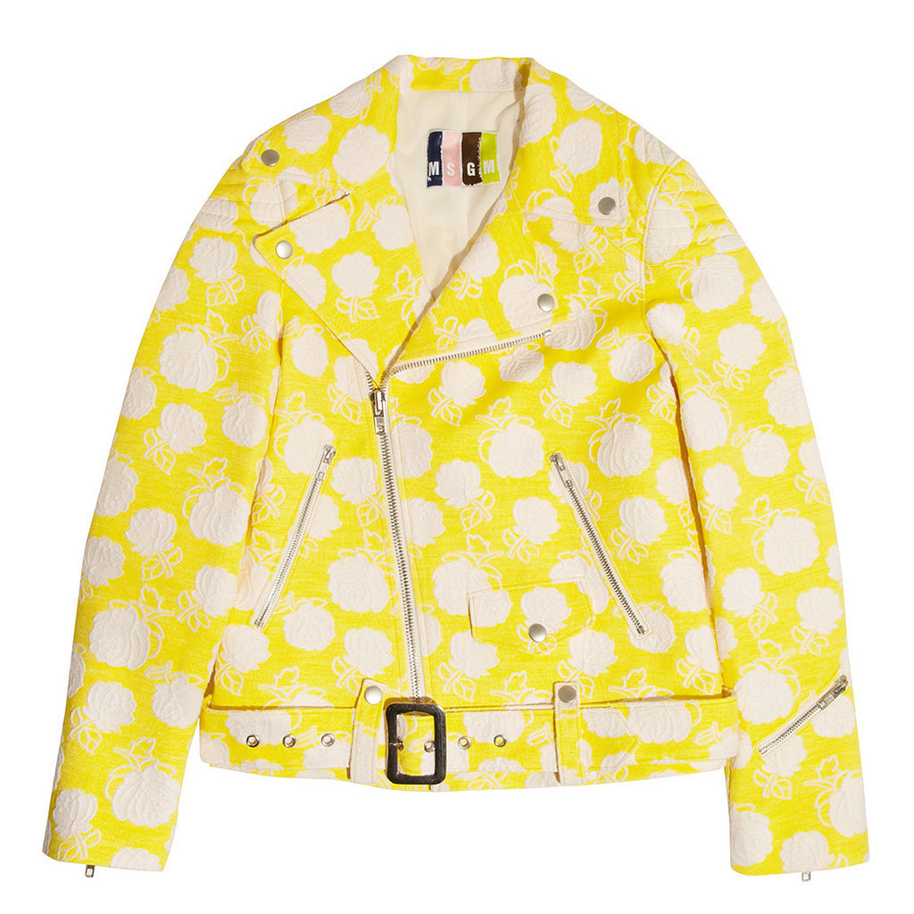 MGSM Yellow Motorcycle Jacket