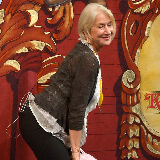 Helen Mirren Twerking at Hasty Pudding Ceremony