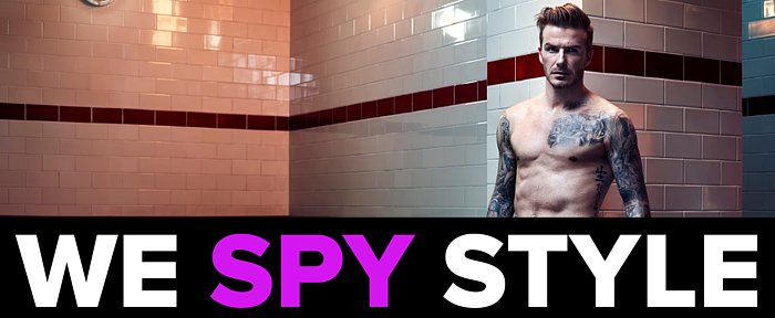 We Spy: David Beckham Strips Down For the Super Bowl!