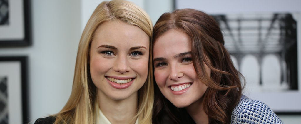 Get to Know the Girls of Vampire Academy, Zoey Deutch and Lucy Fry