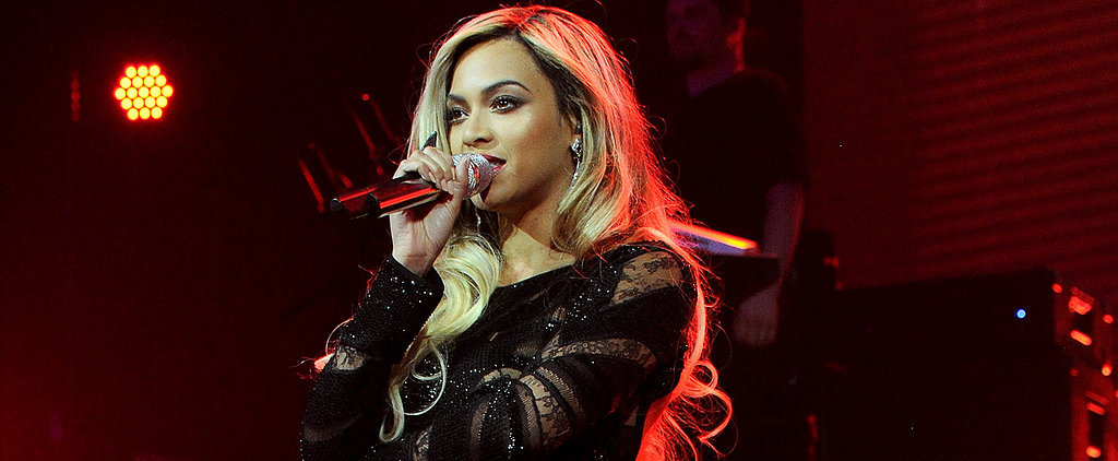 Does Beyoncé's Black Lace Dress Remind You of Anything?