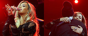 Beyoncé and Jay Z Surprise Fans With a Super Sexy Duet