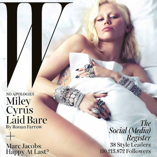 Miley Cyrus March W Magazine Cover
