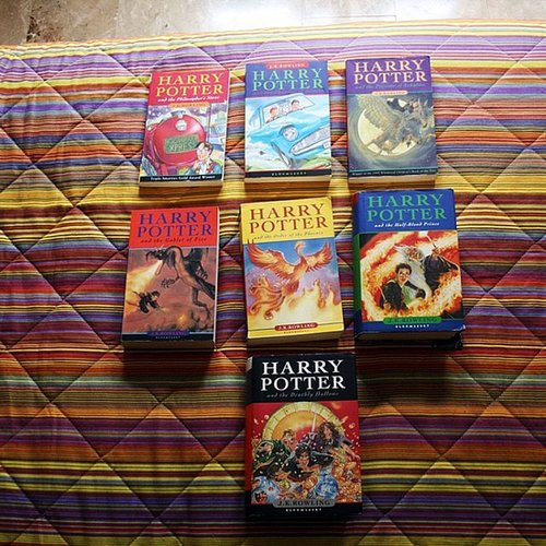 "Harry Potter fan alexlondon23 noted, ""These books will always be a huge part of my childhood."""