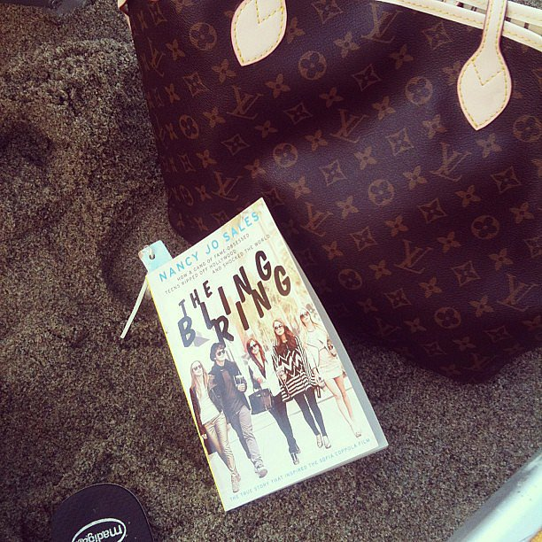 Alexlondon23 shared some Summer reading: The Bling Ring.