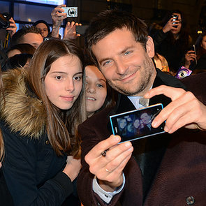 Bradley Cooper at the American Hustle Paris Premiere