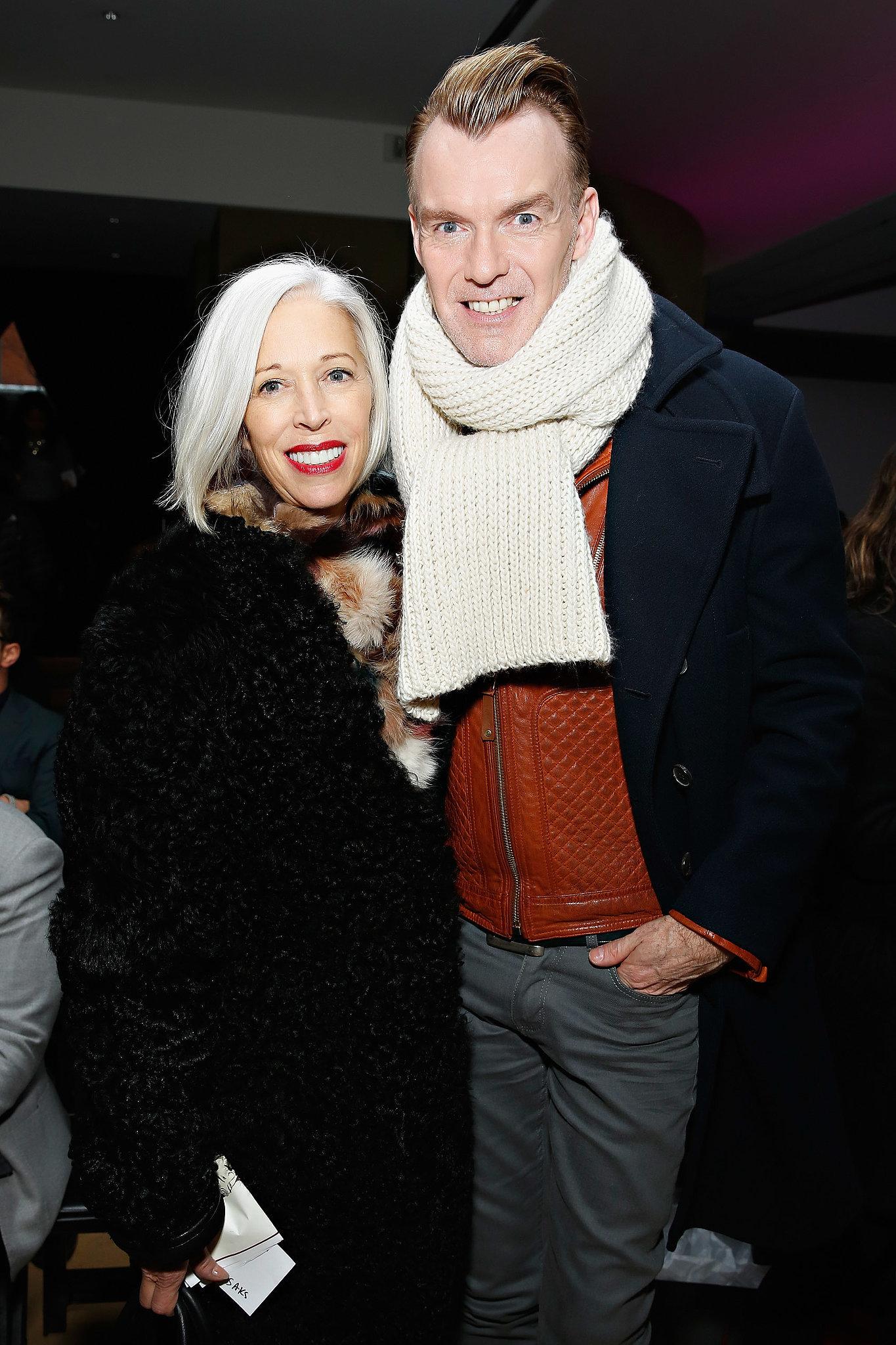 Linda Fargo and Ken Downing at Michael Bastian's Fall 2014 show.