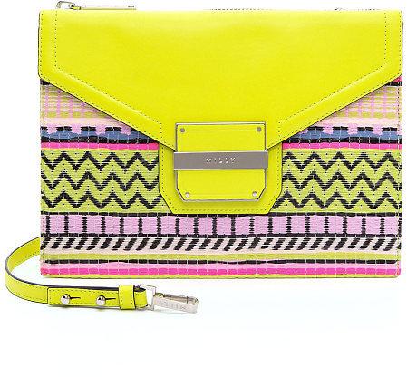 Milly Rich Neon Jacquard Crossbody Bag ($325)