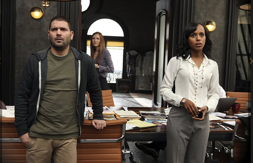 Olivia and Huck, Scandal