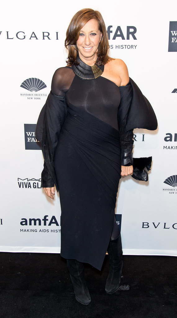 Donna Karan at amfAR's New York Gala.