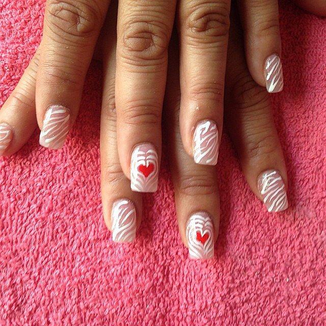 100 Crush-Worthy Valentine's Day Nail Art Ideas