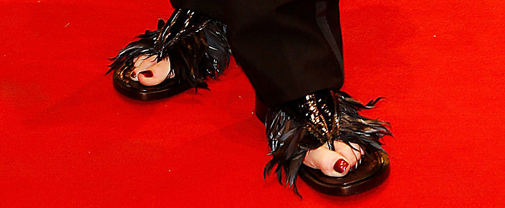 You'll Never Guess Who Wore These Shoes on the Red Carpet