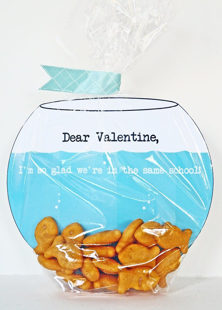 Fish Bowl Valentine's Cards