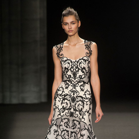 Monique Lhuillier Fall 2014 Runway Show | NY Fashion Week