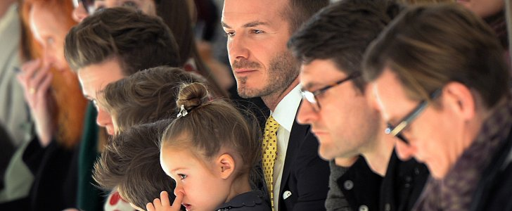 Spotted: The Beckham Family Looking Fashionable (and Adorable) as Ever