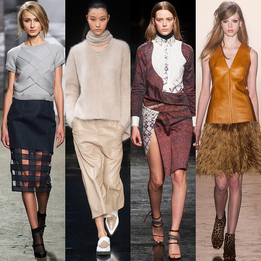 Fashion Trends Fall 2014 New York Fashion Week