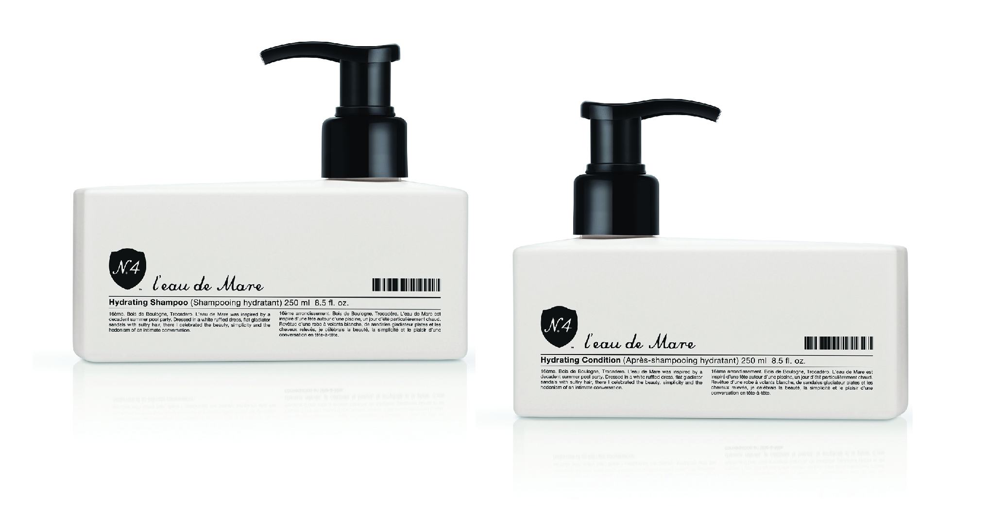 Number 4 Hydrate Shampoo and Conditioner