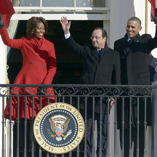 French President Francois Hollande at the White House