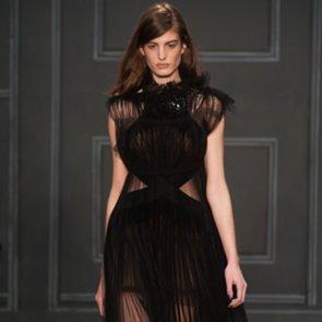 Vera Wang New York Fashion Week Fall 2014