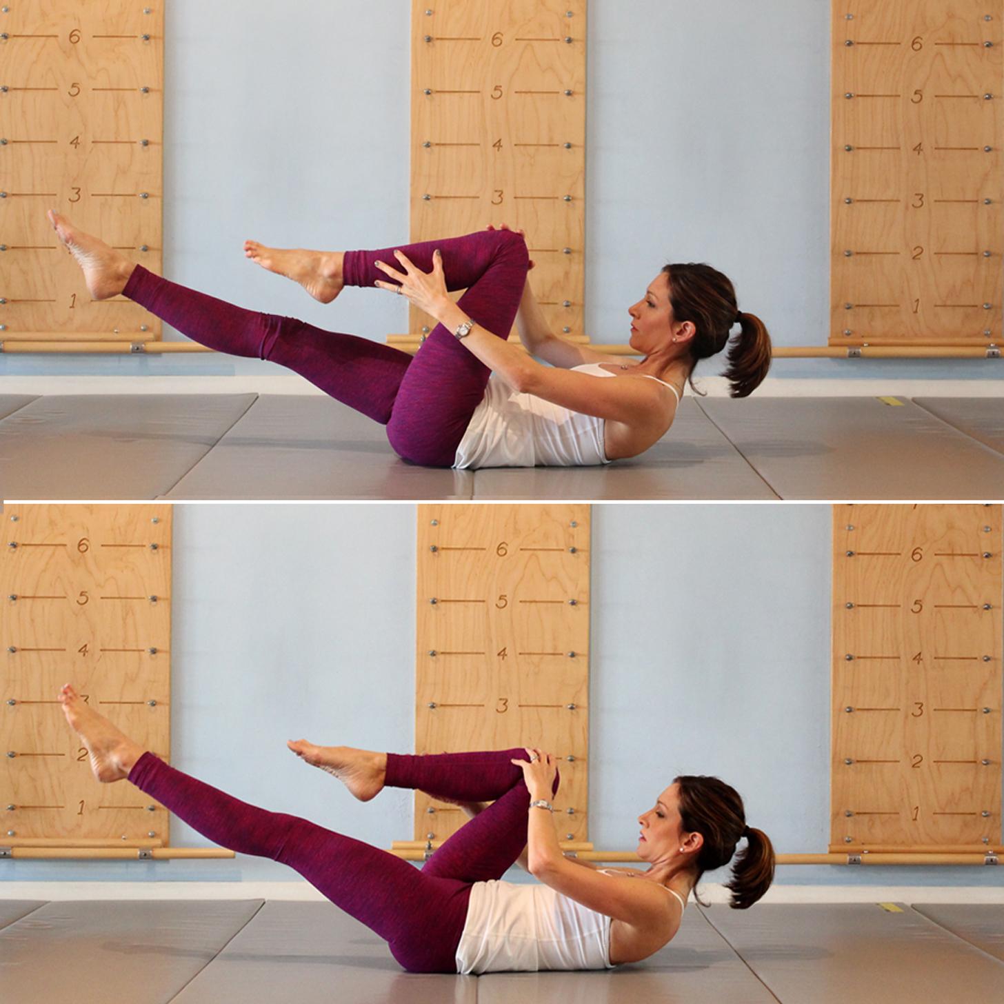 Single-Leg Stretch