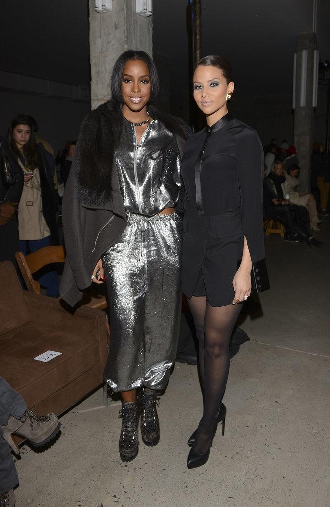 Kelly Rowland and Denise Vasi