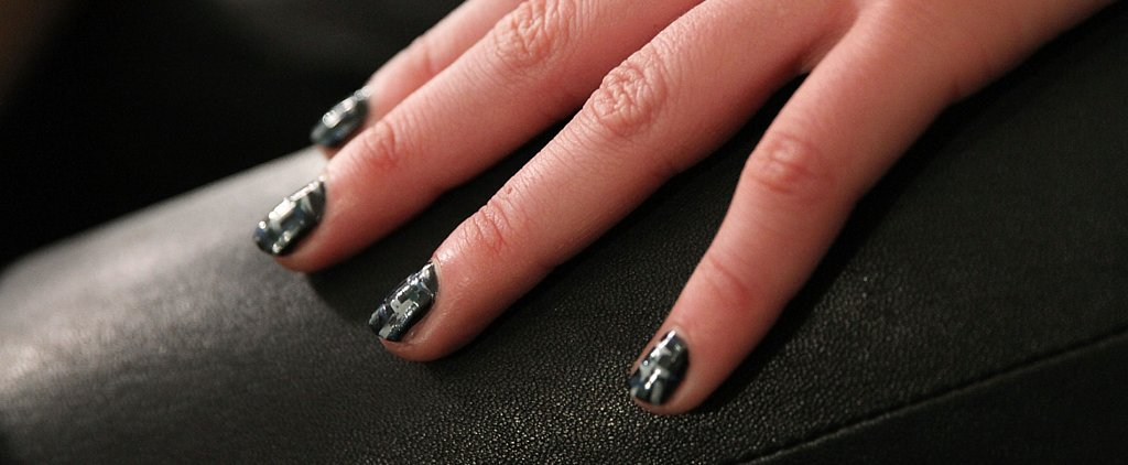 We Can't Wait to DIY the Tweed Nail Art at ICB by Prabal Gurung