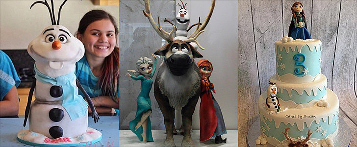 Let It Bake! 16 Droolworthy Cakes Inspired by Disney's Frozen