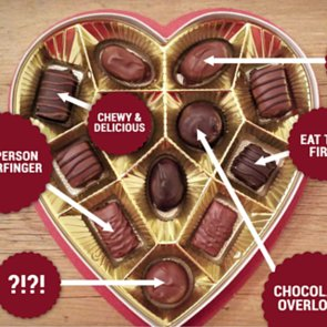 Russell Stover's Valentine's Day Chocolate Flavors