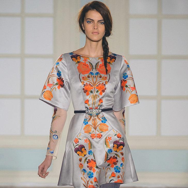 Temperley London Fall 2014 Runway Show | London Fashion Week