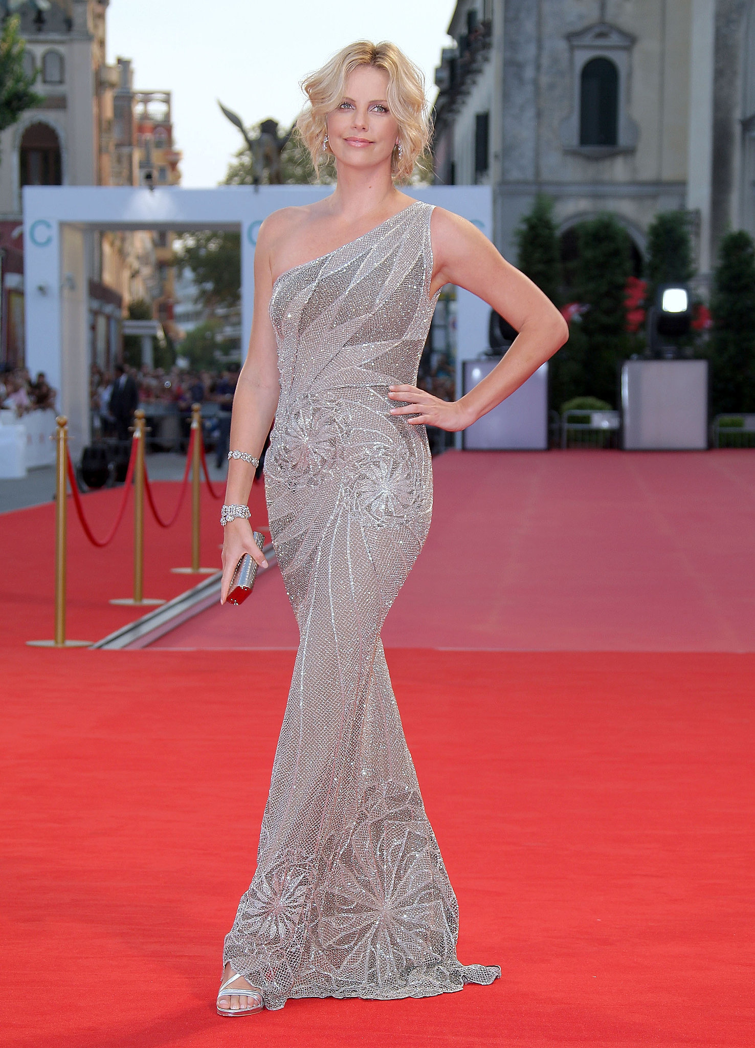 Charlize Theron at the Venice Film Festival
