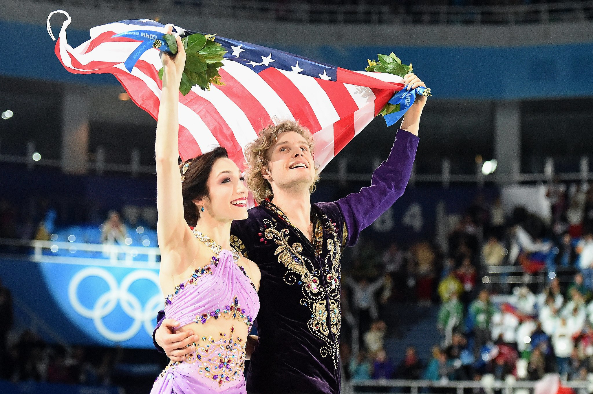 Meryl Davis and Charlie White Will Warm Your Patriotic Heart