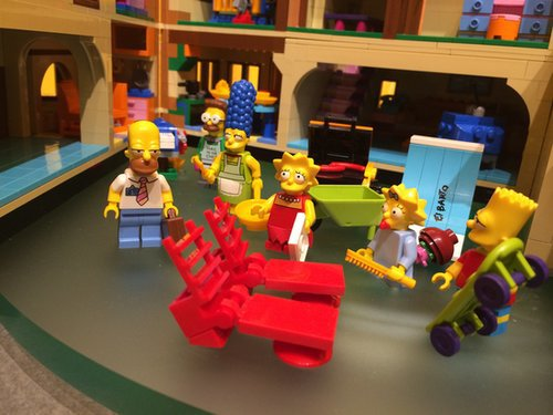 Lego The Simpsons House