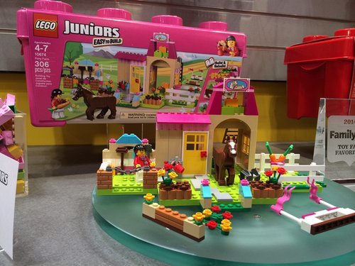 Lego Juniors Pony Farm