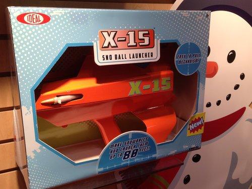 X-15 Sno Ball Launcher