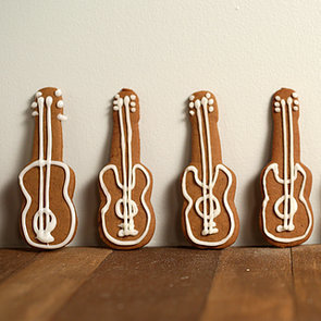 Gingerbread Guitar Cookies Recipe