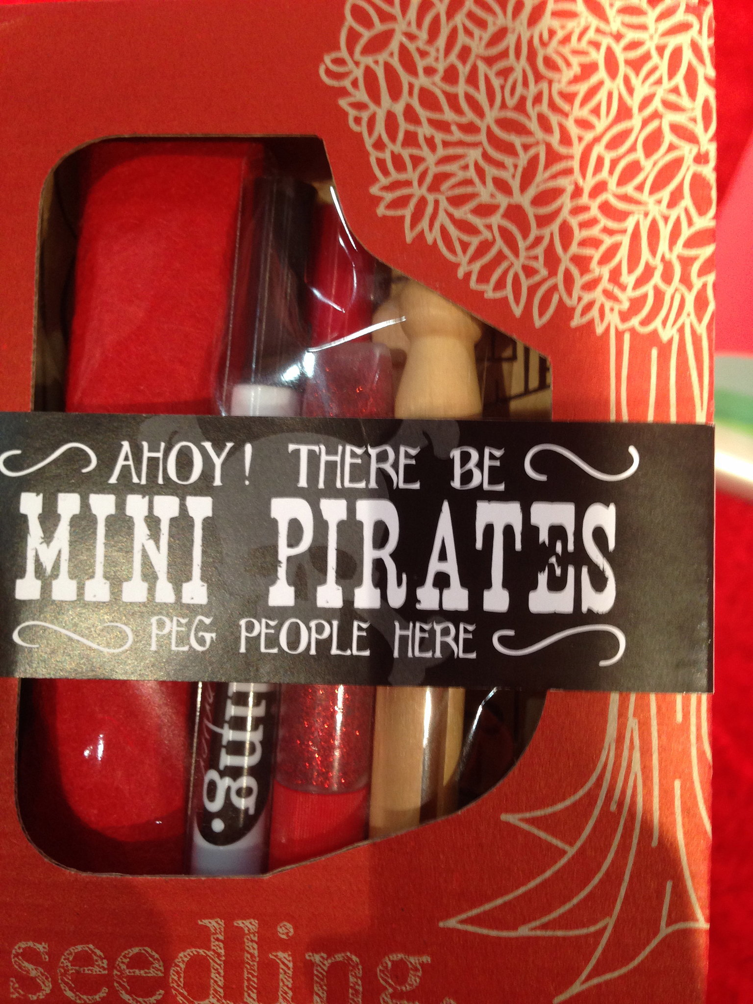 Seedling Mini Pirates Kit