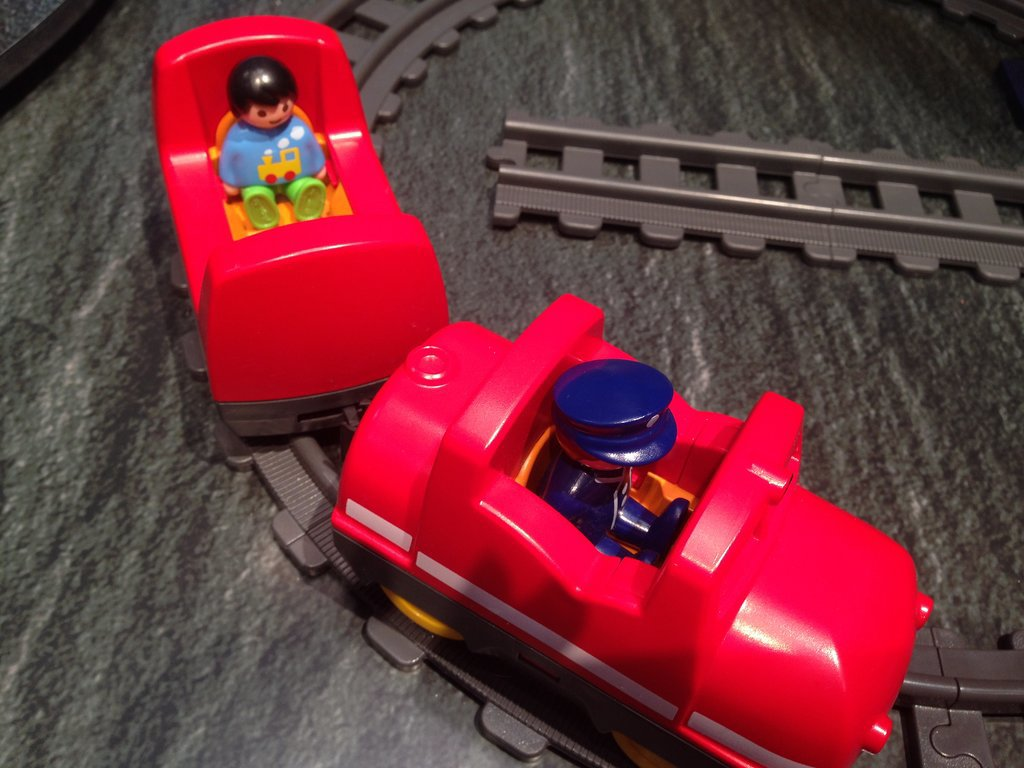 Playmobil 1, 2, 3 Train Set
