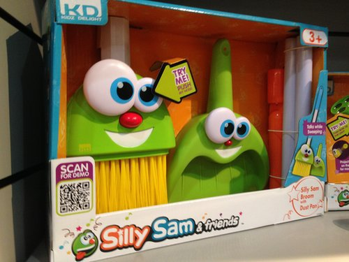 Silly Sam & Friends Cleanup Crew